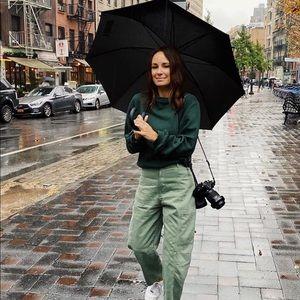 Zara 2019 Green Cargo Pants